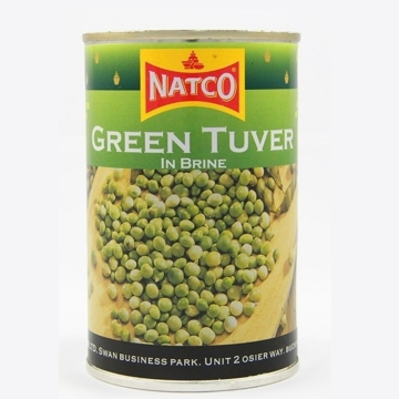 Picture of Natco Green Tuver (Pigeon Peas)  Tin 400g