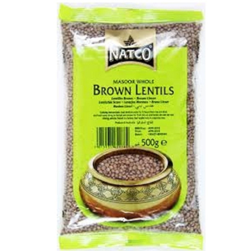 Picture of Natco Brown Lentils 500g