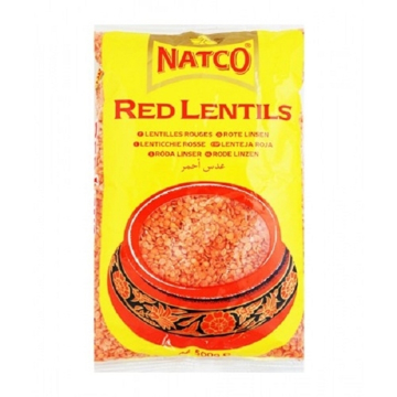 Picture of Natco Red Lentils Polished 500g