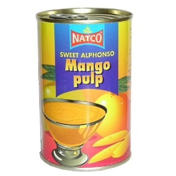 Picture of Natco Mango Pulp Alphonso (Tin) 850g