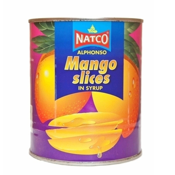 Picture of Natco Mango Slices Alphonso (Tin) 850g