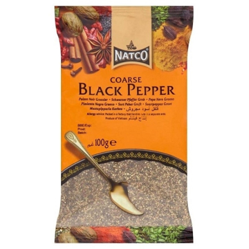 Picture of Natco Black Pepper Coarse 100g