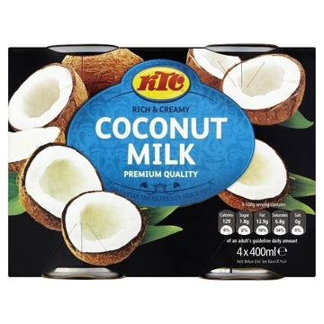 Picture of KTC Rich & Creamy Coconut Milk 400ml