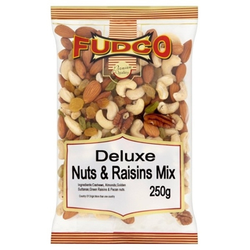 Picture of Fudco Deluxe Nuts & Raisins Mix 250g