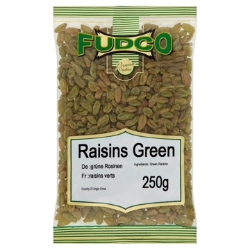 Fudco Green Raisins 250g