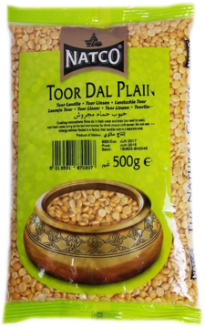 Picture of Natco Toor Dal Plain 500g