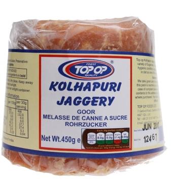 Picture of Top -op Jaggery (Gor) 450g