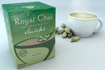 Picture of Royal Chai Premium InstantTeaElaichi(Unsweetened) 220g