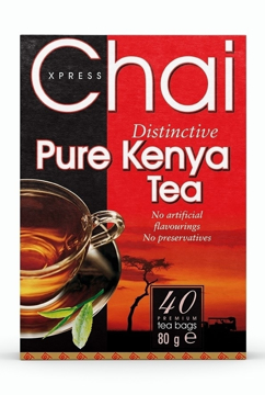 Picture of Chai Xpress Pure Kenya Tea (chai) 80g