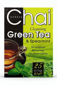 Picture of Chai Xpress Spearmint Green Tea (chai) 100g
