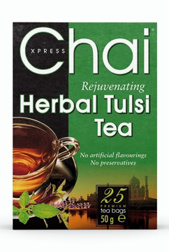 Picture of Chai Xpress Herbal Tulsi (Basil) Tea 50g