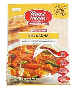 Picture of Rasoi Magic  Veg Kadhai Mix Masala 50g