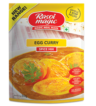 Picture of Rasoi Magic Egg Curry Spice Mix 50g