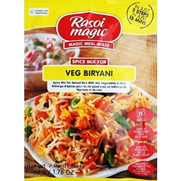Picture of Rasoi Magic Spice Mix  Veg Biryani Spice Mix 50g