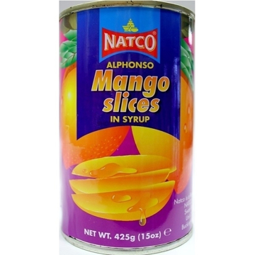 Picture of Natco Alphonso Mango Slices in Syrup 425g