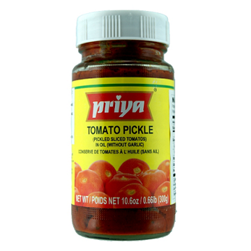 Picture of Priya Tomato Pickle in Oil ( No Garlic) 300g