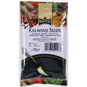 Picture of Natco Kalwanji (Nigella Seeds) 100g