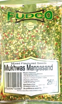 Fudco Manpasand (Mixed Flavour Seeds) Mukhwas 250g