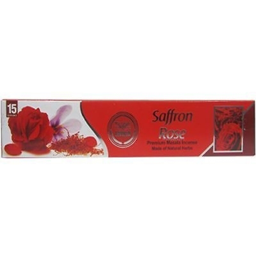 Heera Safron Rose Incense Sticks 15G