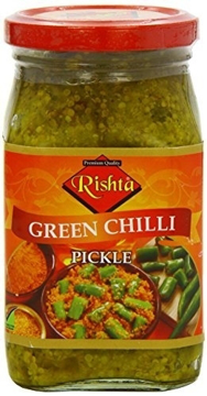 Picture of Rishta Green Chilli Pickle 400g