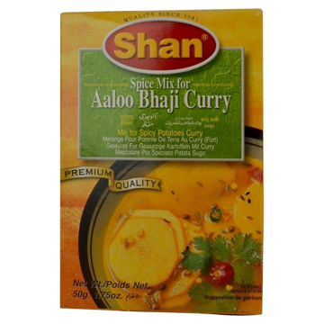 Picture of Shan Alooo Bhaji Curry Masala 50g