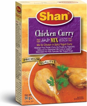Picture of Shan Chicken Curry Mix 50g