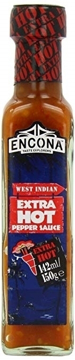 Encona West Indian Extra Hot Pepper Sauce 142ml