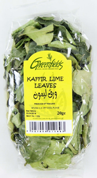 Picture of Greenfields Kaffir Lime Leaves 20g