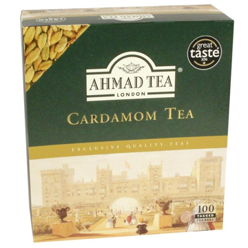 Picture of Ahmad Tea Cardamom Tea 100 Tea Bags