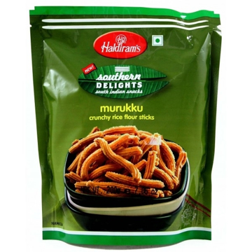 Picture of Haldiram's Murukku Crunchy Rice Flour Sticks 200g