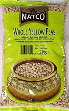 Natco Whole Yellow Peas 2Kg