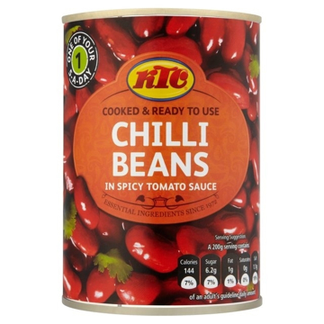 KTC Chilli Beans Tin 400g