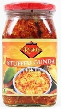 Picture of Rishta Stuffed Gunda Pickle 400g