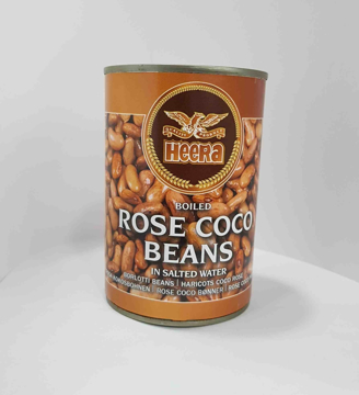 Heera Boiled Rose Coco Beans Tins 400g
