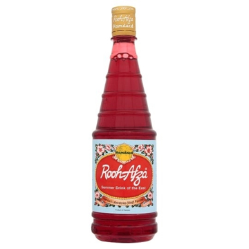 Rooh Afza Rose Flavour Syrup Drink 800ml