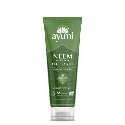 Ayumi Neem & Tea Tree Face Scrub 125ml