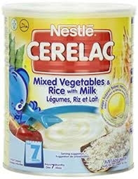 Nestle Cerelac Mixed Veg Rice With Milk 400g