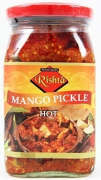 Rista Mango Pickle Hot 400g