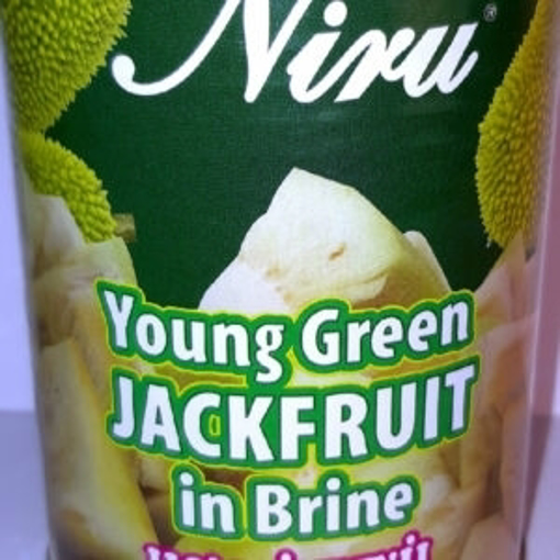 Niru Young Green Jackfruit in Brine 565g