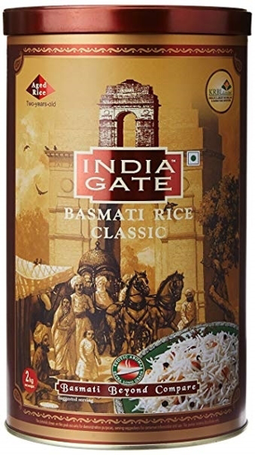 India Gate Classic Basmati rice 2kg