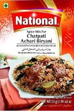 National Chatpati Achari Biriyani 55g