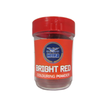 Heera Bright Red Food Colour 25g