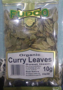 Fudco Organic Dry Curry Leaves 10g