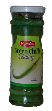 Ramdev Green Chillie Chutney 220g