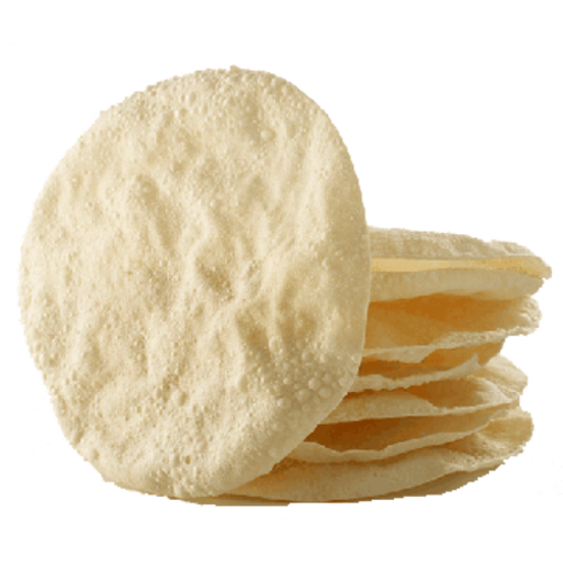 Bombay Chatkaz Plain Rice Papad 100g