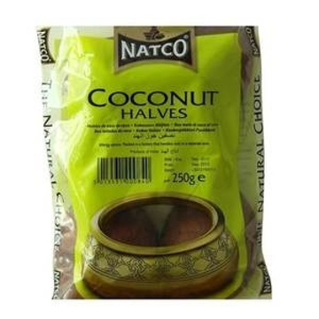 Natco Coconut Halves 250g