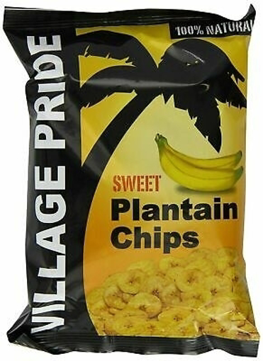 Village Pride Sweet Plaintain Chips 75g