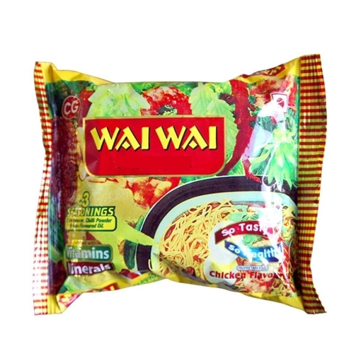 Wai Wai  Noodle Snack Chicken Flavoured