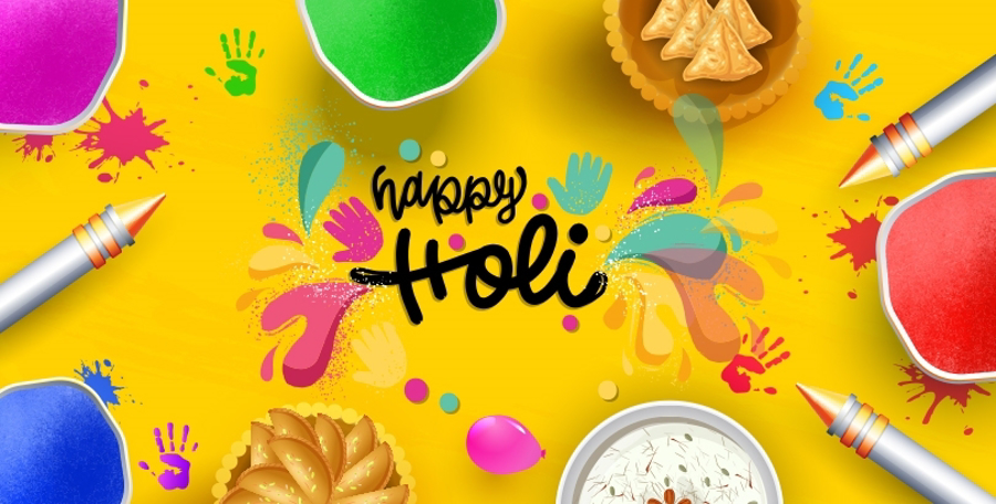 Celebrating Holi 2021 Made Easy with JustHaat