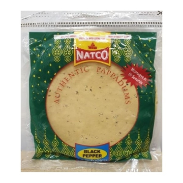 Natco Black Pepper Papad 200g